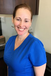 Yuliet, a dental assistant for Douglas A. Deam, DMD, PA